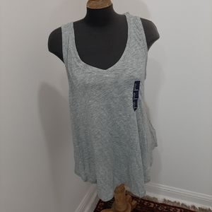 2 for $20 size large nwt gray tank top.  Gap.